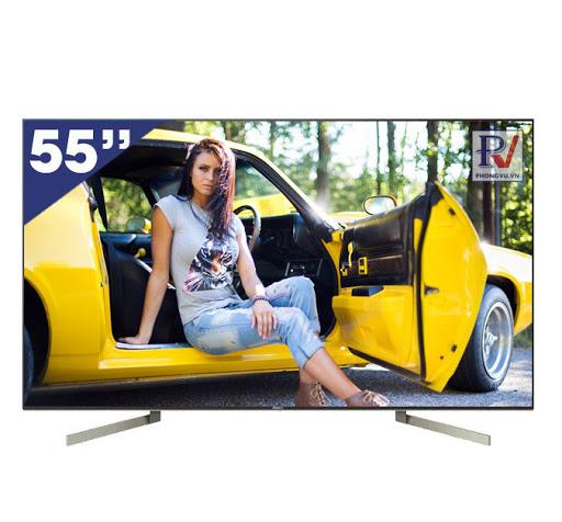 Smart Tivi Sony 4K 55 inch KD-55X9000F