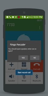 Ringo Recorder - Automatic Call Recorder ✆ - náhled