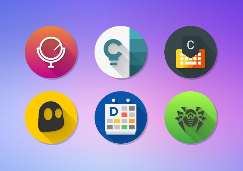 Icon Pack - Android™ Oreo 8.0 Screenshot 4