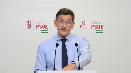 100 millones: el PSOE reclama este dinero a la Junta para Almería