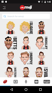 AFL Players Moji- screenshot thumbnail