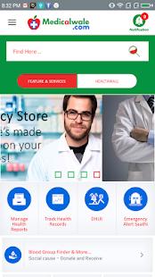 Medicalwale.com Beta - náhled