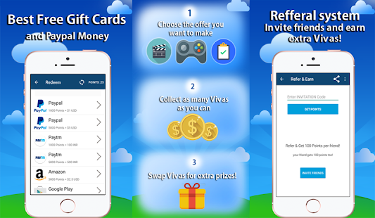 VivApp - Cash Rewards & Free Gift Cards- screenshot thumbnail