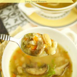 White Bean And Barley Soup