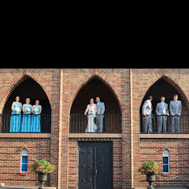 Bridal party  by Anita Crisp - Wedding Groups