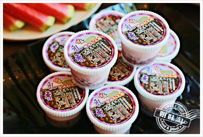 河邊海鮮餐廳-紅豆紫米椰奶粥
