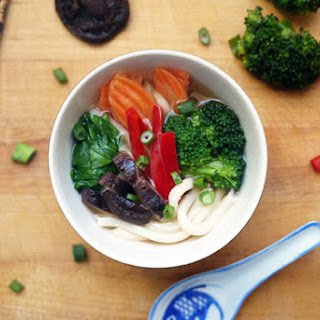 Weeknight Udon with Quick Vegetarian Dashi
