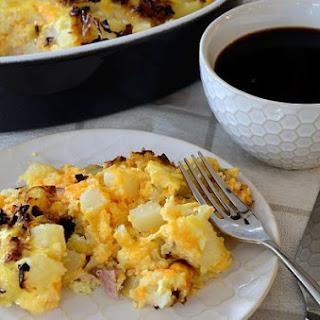 Canadian Bacon Breakfast Casserole Recipe