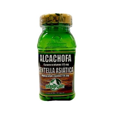Alcachofa + Centella Asiática Herbaplant 500 Mg X 60 Cápsulas alcachofa + centella asiatica herbaplant 500 mg x 60 capsulas