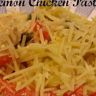 Gluten Free Lemon Chicken Pasta.