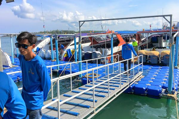 Depart from Seastar Pier in Khao Lak
