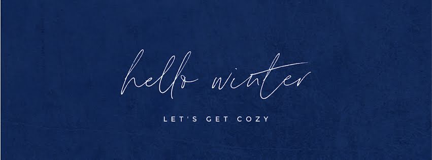 Hello Winter - Facebook Personal Cover Template