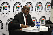 Minister of Finance Nhlanhla Nene is giving testimony at the commission of inquiry into state capture that is chaired by the deputy Chief Justice Raymond Zondo.