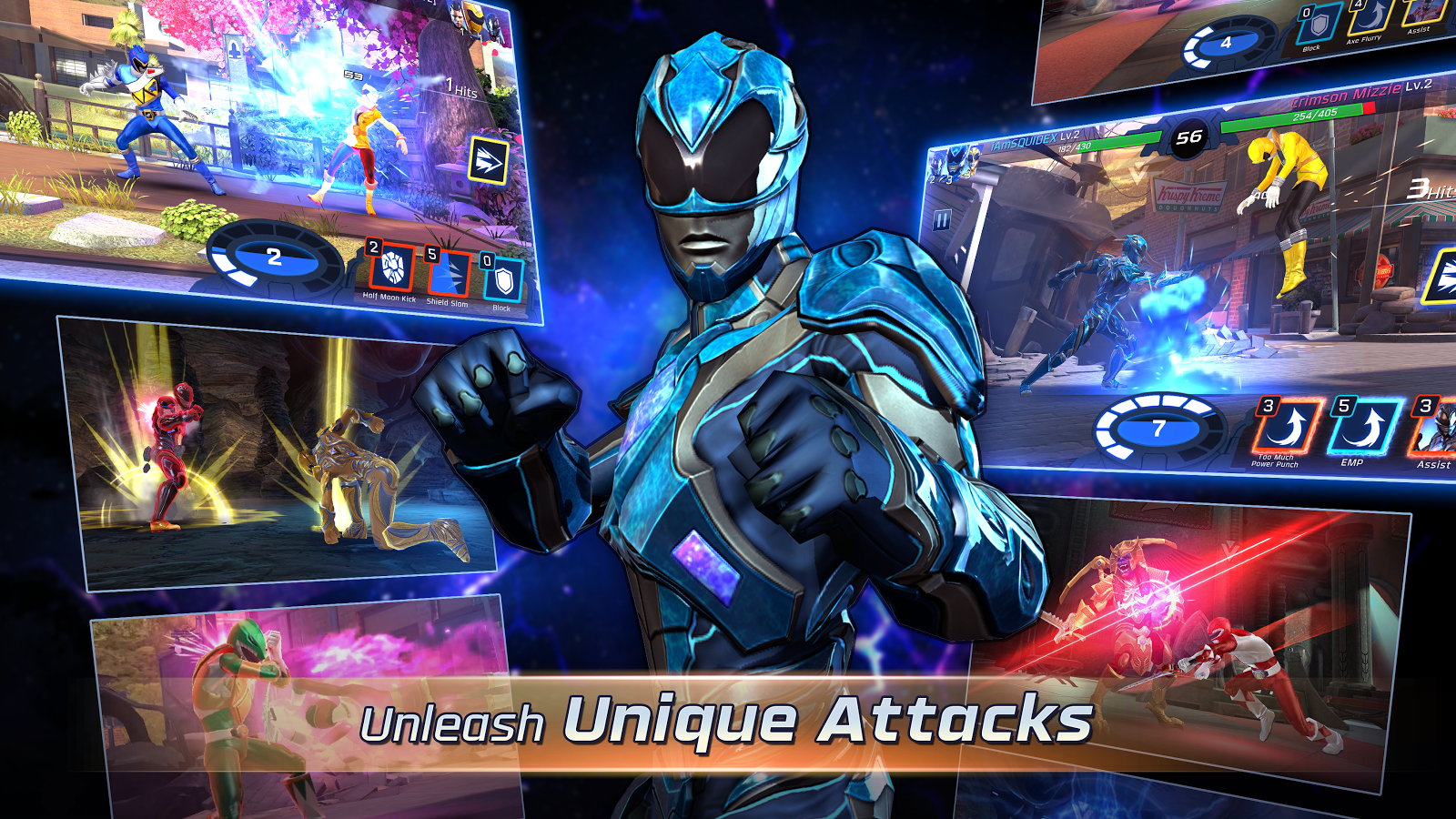 Power Rangers: Legacy Wars– captură de ecran