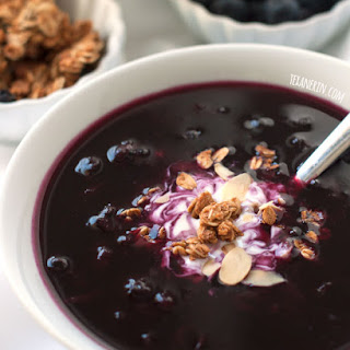 Healthier Swedish Blueberry Soup (naturally vegan, gluten-free and dairy-free)