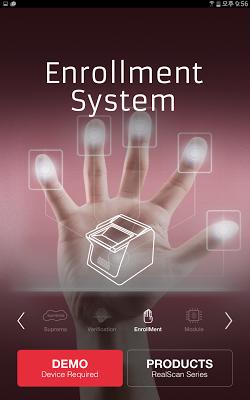Suprema FingerPrint - screenshot