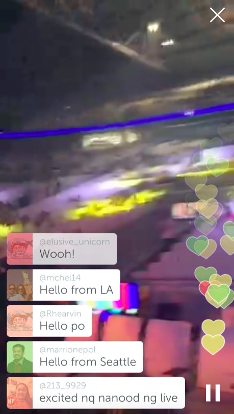 Image result for concert periscope