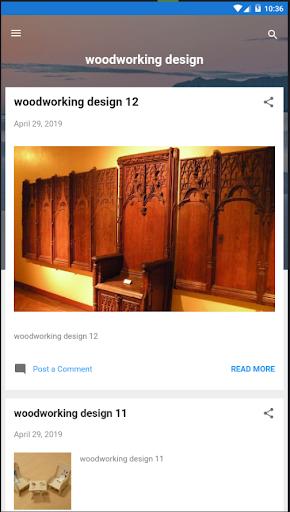 WoodWorking Designs screenshot 1