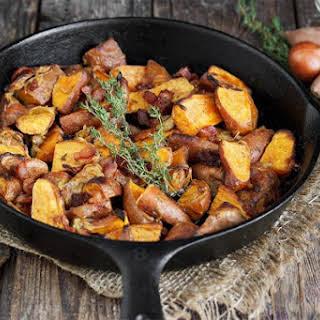 Dijon Roasted Mini Sweet Potatoes.