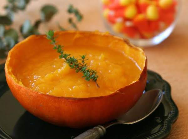 Golden Pumpkin Soup Recipe