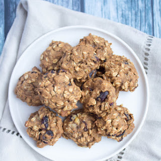 Oatmeal Banana Pumpkin Cookies.