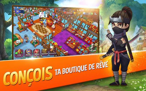 Télécharger Gratuit Shop Titans : Fabrication & Commerce  APK MOD (Astuce) screenshots 1