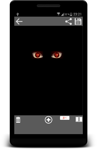 Sharingan Eyes Photo Maker Cam