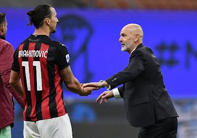 Zlatan ne tarit pas d'éloges à propos de son coach