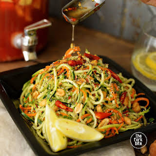 Sweet and Sour Thai Cucumber Salad.