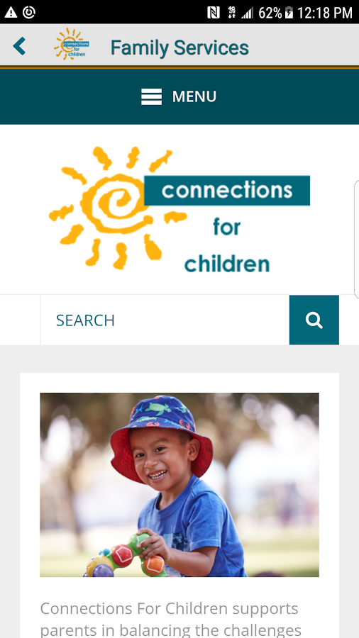 Connections For Children- screenshot