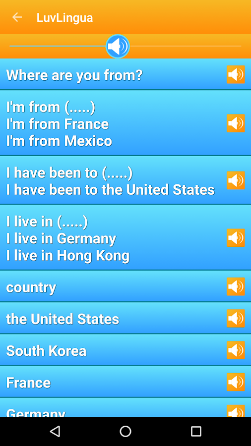 Learn English Language LuvLingua- screenshot