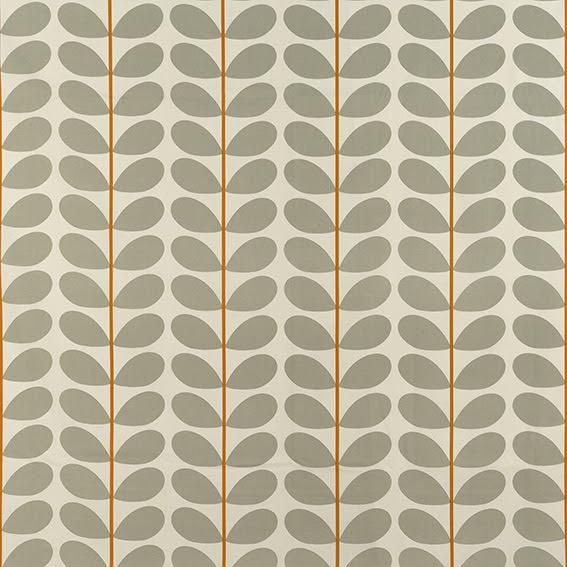 Two Colour Stem av Orla Kiely - warm grey