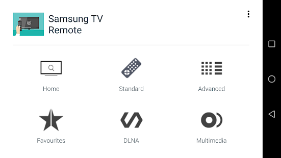 TV Remote for Samsung TV- screenshot thumbnail