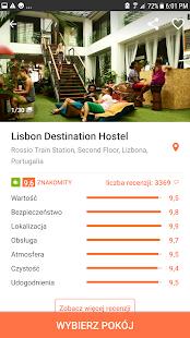 Hostelworld: Hostele wnaszej aplikacji Screenshot