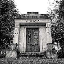 McChesney  by Todd Reynolds - Black & White Buildings & Architecture