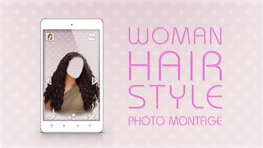 Woman Hair Style Photo Montage screenshot 5