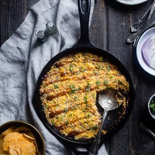 BBQ Baked Chicken Spaghetti Squash Casserole Recipe