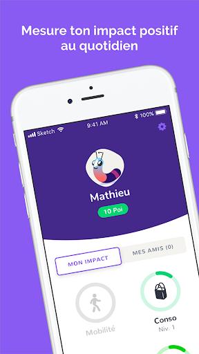 Poi - Mesure ton impact positif screenshot 6