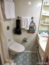 Photo: The rest of the bathroom.  Large enough to not be an annoyance.