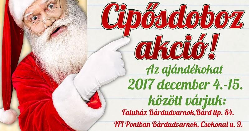 Cipősdoboz akció 2017