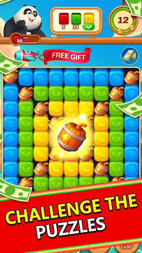 Panda Cube Smash  screenshots 1