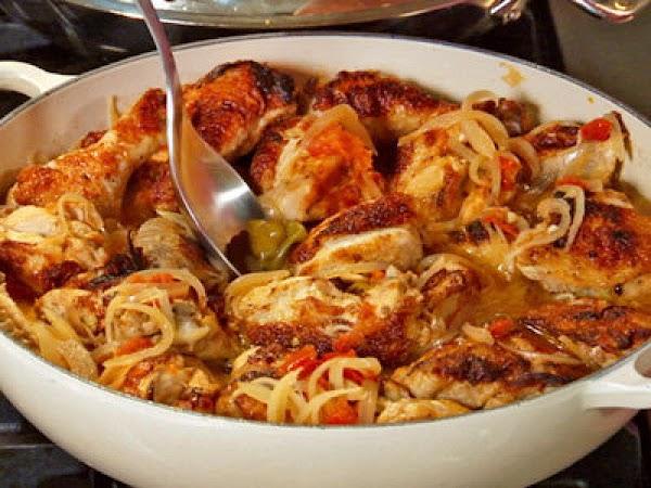 Jamaican Chicken Fricassee` Recipe