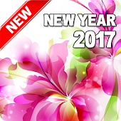 Happy New Year 2017 (Flowers)