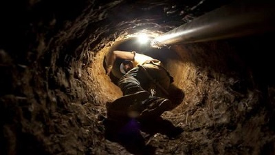 An illegal miner in South Africa. Picture: REUTERS