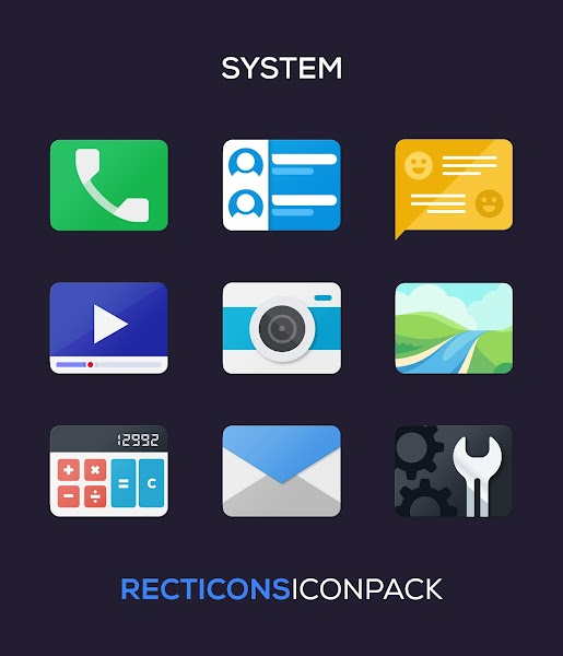 Recticons – Icon Pack v3.1 [Patched] 1