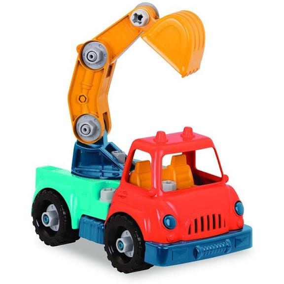 Contenido de Wonder Wheels Camión Excavadora