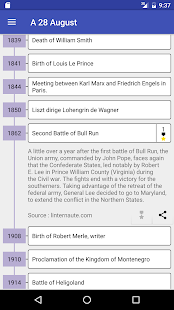 Today in History - náhled