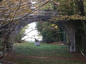 Photo: Vue du château ratée en contre-jour.