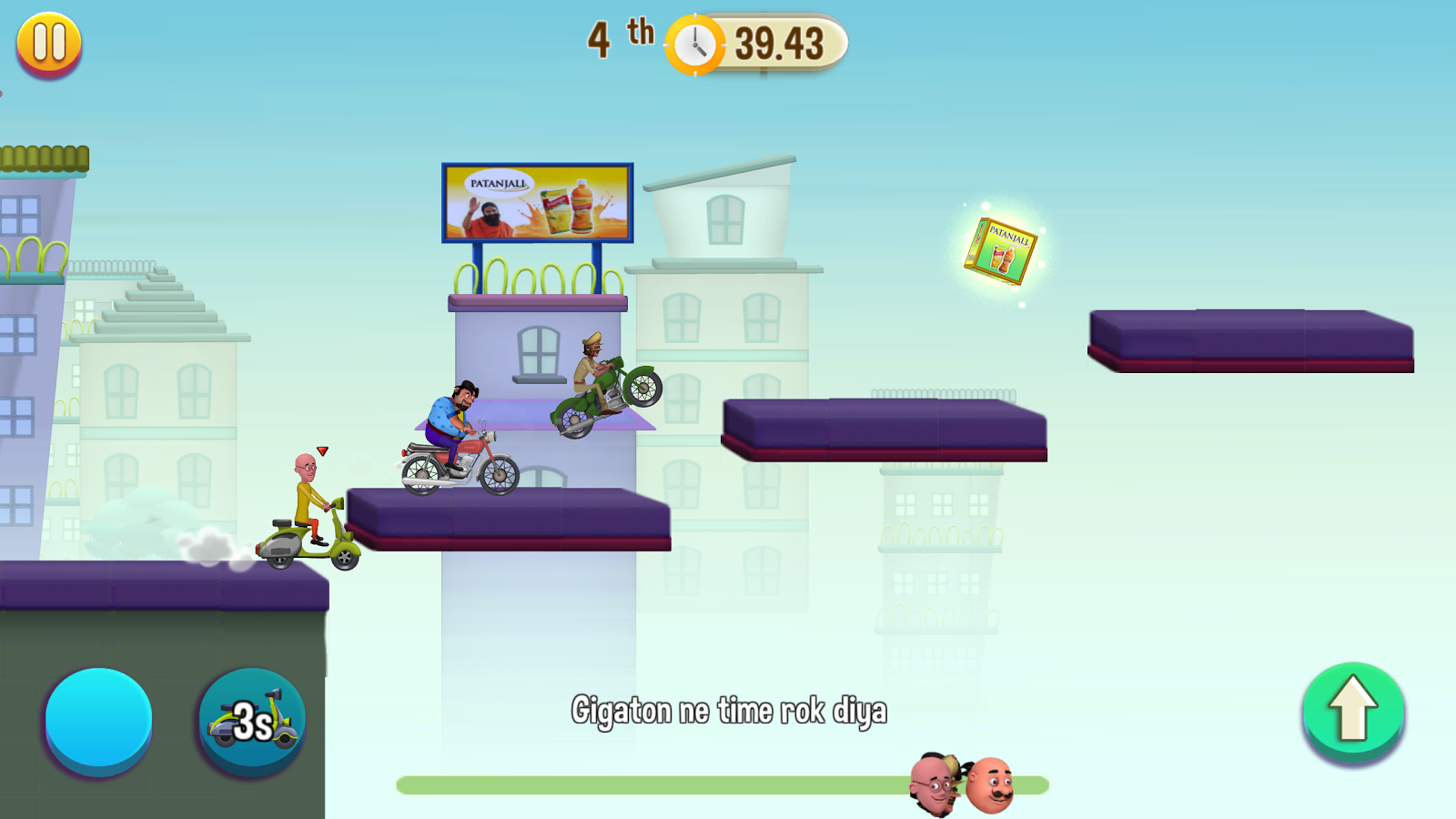 Motu Patlu Game- screenshot