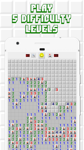 Minesweeper for Android - Free Mines Landmine Game 2.6.22 screenshots 2